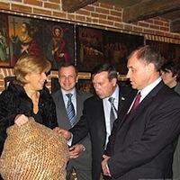 Губернатор та мер Житомира відвідали «Замок Радомисль». ФОТО